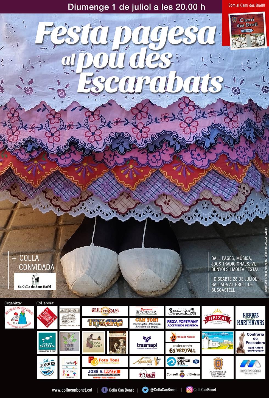FESTA PAGESA AL POU DES ESCARABATS (Buscastell)
